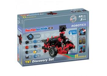 ROBOTICS TXT Набор первооткрывателя / ROBOTICS TXT Discovery set, fischertechnik