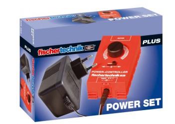 Набор с блоком питания / Power Set (only available 220V, CEE), fischertechnik