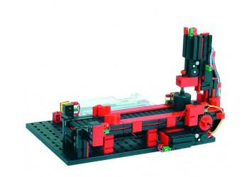 Модель штамповочного пресса с конвейером 9 В с ROBO TX, fischertechnik