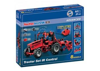 Трактор с дистанционным управлением / ADVANCED Tractor Set IR Control, fischertechnik