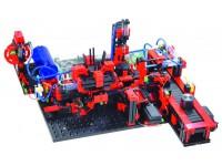 Модель производственной линии с пневмоприводом 9 В с ROBO TX