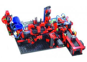 Модель производственной линии с пневмоприводом 9 В с ROBO TX, fischertechnik