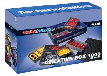Ресурсный ящик 1000 с деталями / Creative Box 1000, fischertechnik