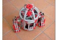 Видео fischertechnik: робот R2D3